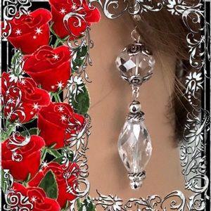 🌺🌴🌺 GLAMOROUS CRYSTAL EARRINGS 🌺🌴🌺